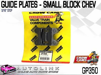 """Crow Cams Guide Plates 5/16"""" Stepped Suit Chev Small Block V8 ( Gp350 )"""