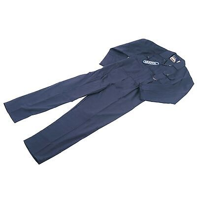 Draper Workshop Extra Large (XL) Polyester Boiler Suit / Overalls Blue - 63980