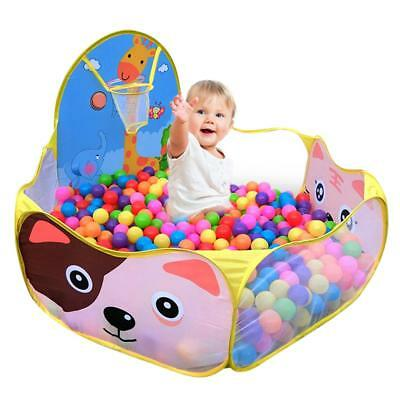 Foldable Kids Portable Pit Ocean Ball Pool Outdoor Indoor Baby Tent Play Hut New