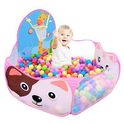 Foldable Kids Ocean Ball Pit Pool Playhut Portable Outdoor Indoor Child Toy Tent