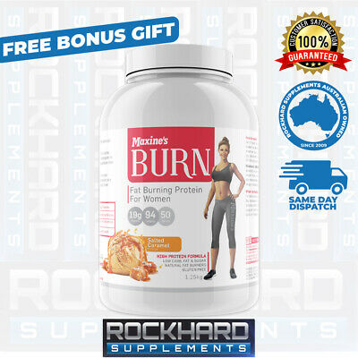 Maxine's Burn Whey Protein 1.25kg - Toning - Thermogenic Womens Maxines