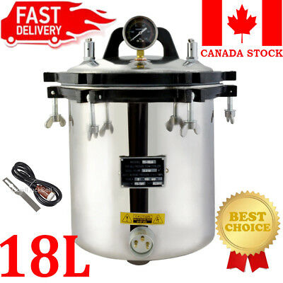 Stainless Steel 3L Liter Industry Heated Ultrasonic Cleaner Heater w/Timer CAN