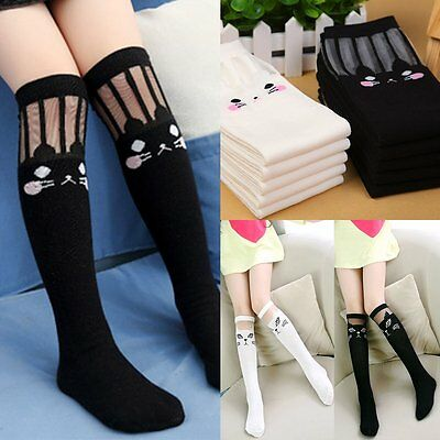 543e5fe5a Cute Baby Kids Toddlers Girls Knee High Socks Tights Leg Warmer Stockings  3-15Y