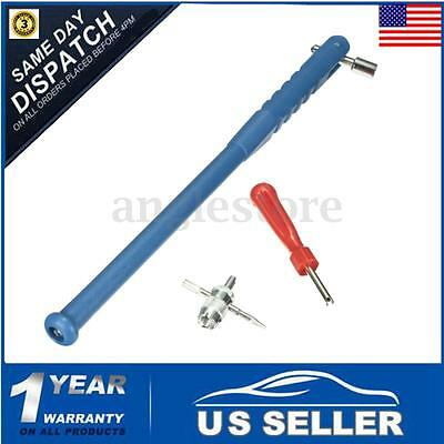 Car Motorbike Bicycle Wheel Tyre Valve Stem Puller Core Remover Repair Tool Kit
