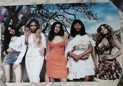 Fifth Harmony 7/27 DELUXE VERSION 2016 Taiwan Promo Poster