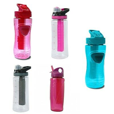 EZ Freeze Drink Water Bottle With Snap Lock Clip Brand New Gift