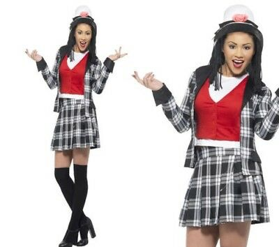 Clueless Dionne Costume Ladies Film Star Fancy Dress Outfit S,M