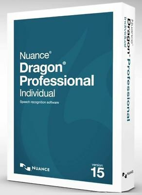 New Dragon Professional Individual 15 D0WNL0AD w/FREE BackUp Disc FAST DELIVERY