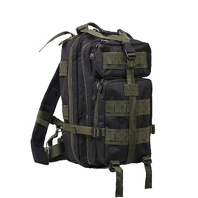 EMS BAG EMT BAG   Paramedic Medical Medium Transport Back Pack Black Olive  NEW