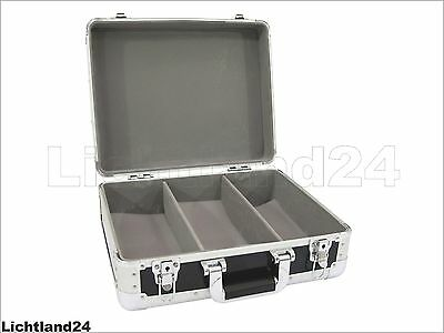 TOP! CD Case - ALU Digital-Booking SCHWARZ, eleganter Flightcase-Koffer