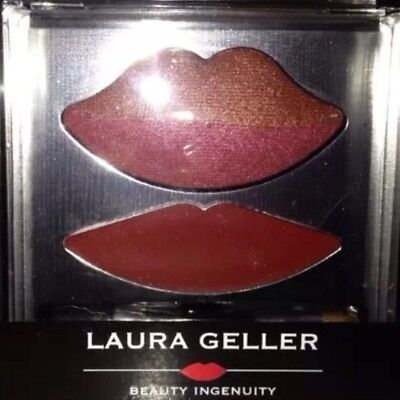 Laura Geller Baked Bites  Lush Lip Color & Olive Oil Infused Gloss, Bronze Berry
