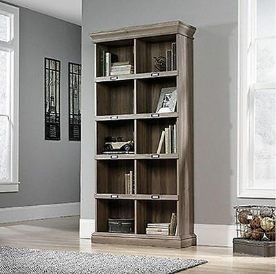New 5 Shelf Vertical Bookcase Bookshelf Organizer for Home or Office Furniture
