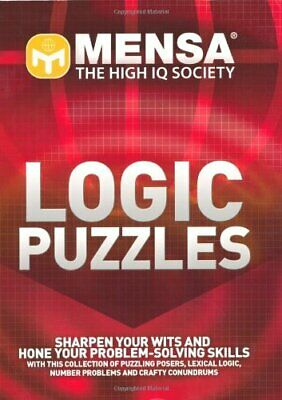 Mensa Logic Puzzles by Carter, Philip J. Paperback Book The Cheap Fast Free Post