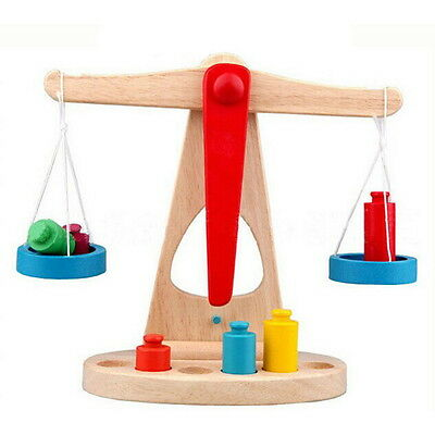 Balance Scale Toy Montessori Educational Toy Baby Early Development Toy