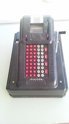 Vintage Victor McCaskey Cash Register