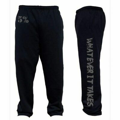 Rich Piana 5% Nutrition Sweatpants #114  Whatever It Takes Mens Gym Wear