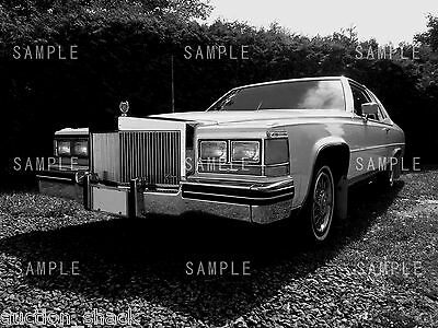 Old Cadillac Black & White Digital Image Photo (DIGITAL FILE SEND BY EMAIL ONLY)