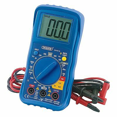 Draper Digital Electrical/Electronic Tester/Testing AC/DC Multimeter Tool- 78993