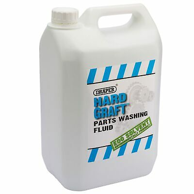 Draper 5 Litres (5L) 'Hard Graft' Parts Washing/Cleaning Fluid/Degreaser - 64997
