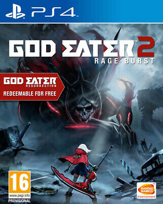 God Eater Resurrection / God Eater 2 Rage Burst PS4 Playstation 4 NAMCO