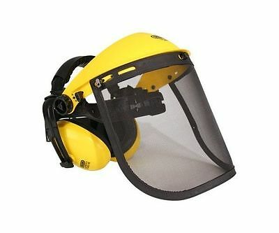 Oregon safety mesh visor with ear defenders ideal for Stihl and Husqvarna users