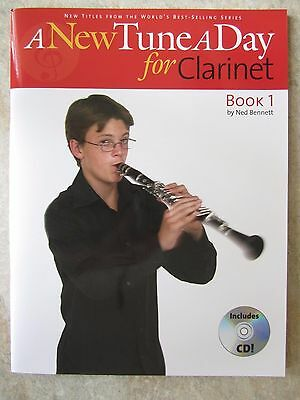A New Tune A Day for Clarinet Book 1 including cd  *NEW*