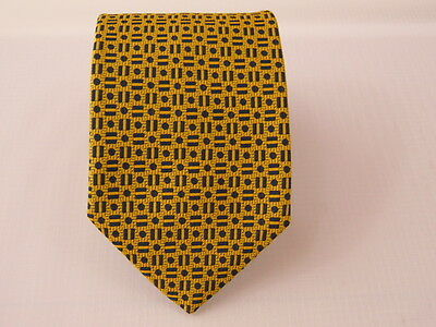 100% Pura Seta Silk Tie Seta Cravatta Made In Italy  A5984
