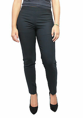 NEW YORK INDUSTRIE women's trousers blu mod BEIRUT 97% lana MADE IN ITALY