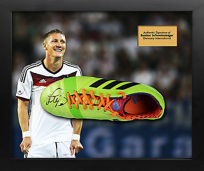 Bastian Schweinster Signed Germany Boot Dome Display