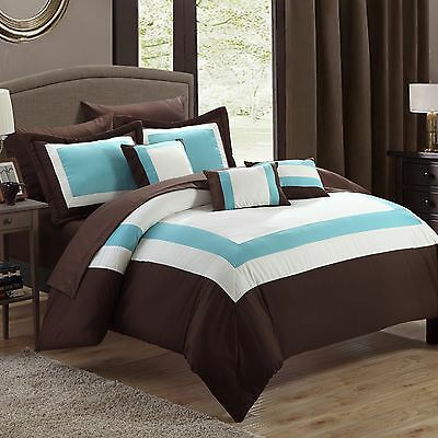 Chic Home Duke 10 Piece Bed-In-A-Bag Set
