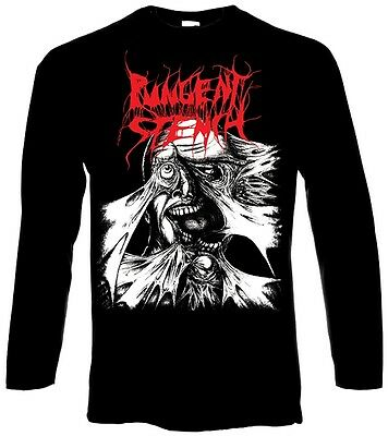 PUNGENT STENCH Split Lp Cover Longsleeve - M / Medium - 160042