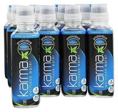 Karma - Wellness Water Probiotics Blueberry Lemonade - 12 Bottle(s)