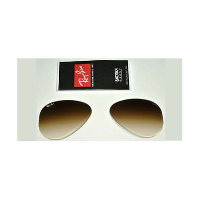 8a23f67cd38 Lenti Ricambio Ray Ban 3026 62 Aviator Brown Gradient Replacement Lenses  Marrone