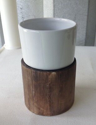 Iridium Wood & Ceramic Tumbler Cup