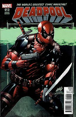 Deadpool #13 Liefeld 1:100 Incentive Variant Cover