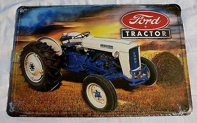 "New ""ford Tractor"" Parking Sign Garage Man Cave Dorm Room Barn"