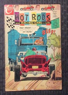 1968 HOT RODS And Racing Cars #89 GD+ 2.5 Charlton