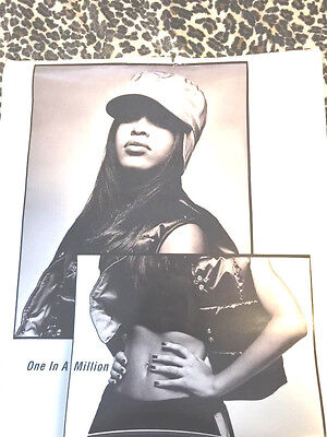 AAliyah one in a million poster
