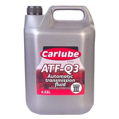 Vauxhall Astra Belmont Carlube Dexron III 4.5L Automatic Transmission Oil