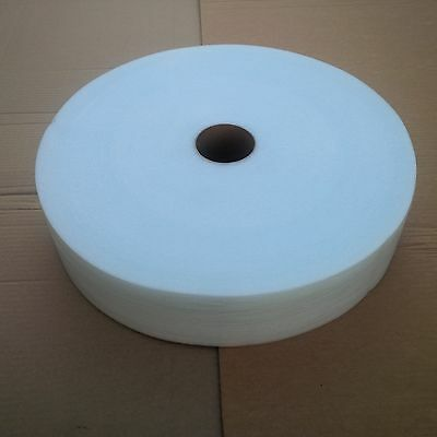 """Cohesive Foam Cushion 1/16""""x4""""x425', Whit, Self Pouch, 4 All Surface, Trboxtapes"""
