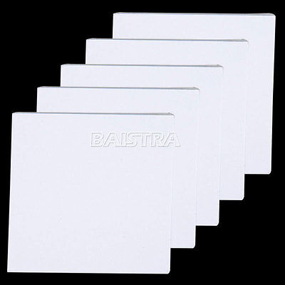 5 Pads(250pcs) Dental Mixing Pad 5.1 x 5.1cm (2x2 inch) Bounded on 2 Sides SALE