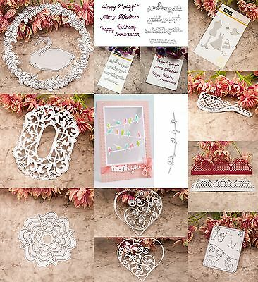 DIY Metal Cutter Cutting Dies Stencils Scrapbooking Cards Album Embossing Craft