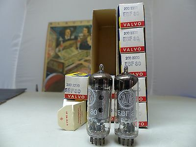 EBF80-VALVO-RÖHRE-TUBE-NOS-IN-BOX unused Valvola