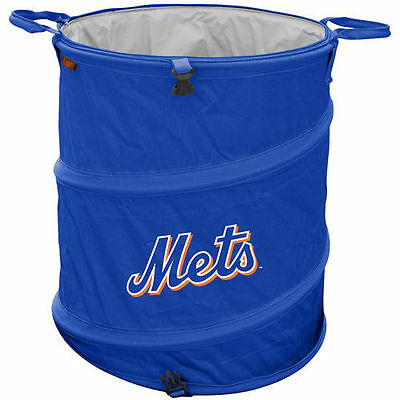 New York Mets Collapsible 3-in-1 Trashcan Cooler - MLB