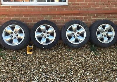 Dodge RAM 1500 4 alloy wheels and tyres 20 inch