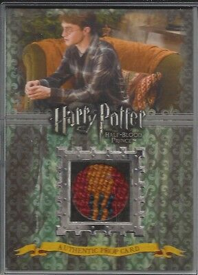 Harry Potter And The Half Blood Prince Prop Card P3 Cushions From The Burrow
