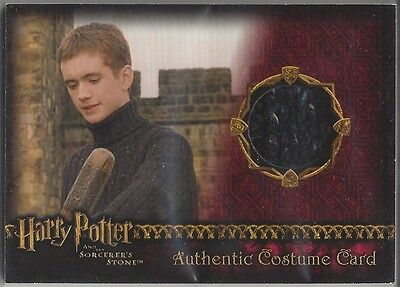 Harry Potter And The Sorcerer's Stone Costume Card 012/300 Sean Biggerstaff