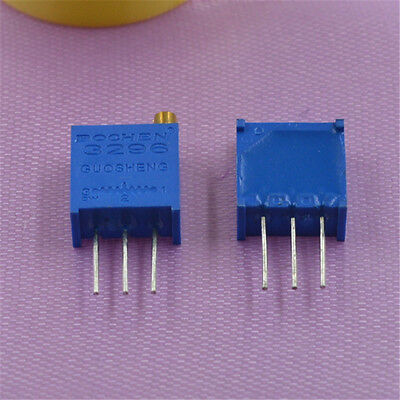 3296 Multiturn Variable Trimmer Preset Resistor Potentiometer Various Values/QTY