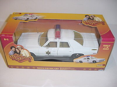 "1/18 Dukes Of Hazzard 1975 Dodge Monaco ""Rosco Patrol Car"" NIB! High Detail!"
