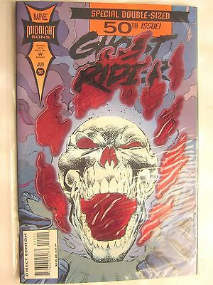 GHOST RIDER #50 (MARVEL MIDNIGHT SONS Comic Book) NM, 9.4 or better in grade